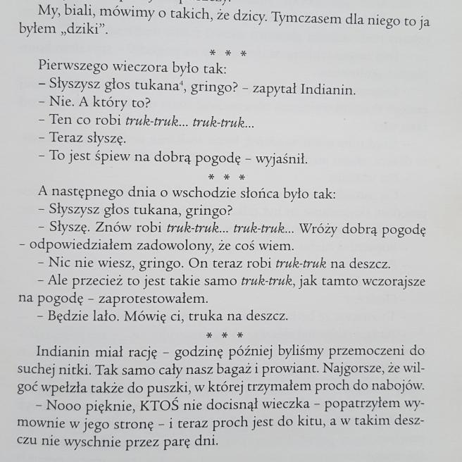"""W. Cejrowski """"Gringo wśród dzikich plemion"""""""