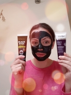 Black Masks Peel-of vs Creamy