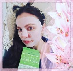 W maseczce od Skin Academy - Tea Tree Sheet Mask