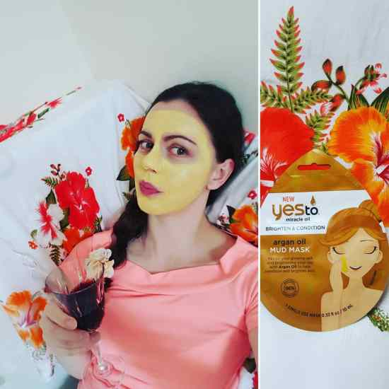 Yesto argan oil mud mask