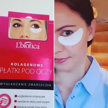 Collagen eye patches L'biotica