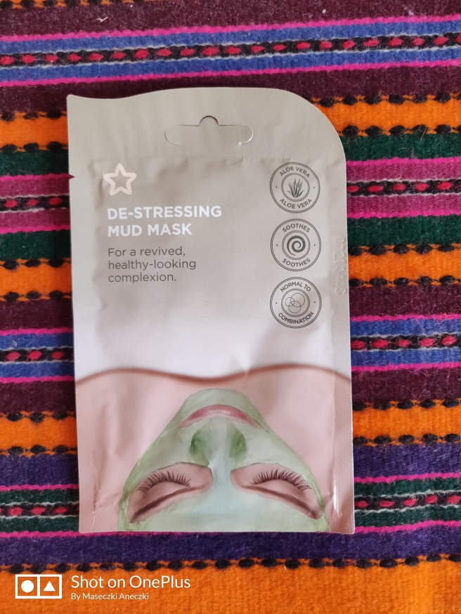 De-stressing mud mask