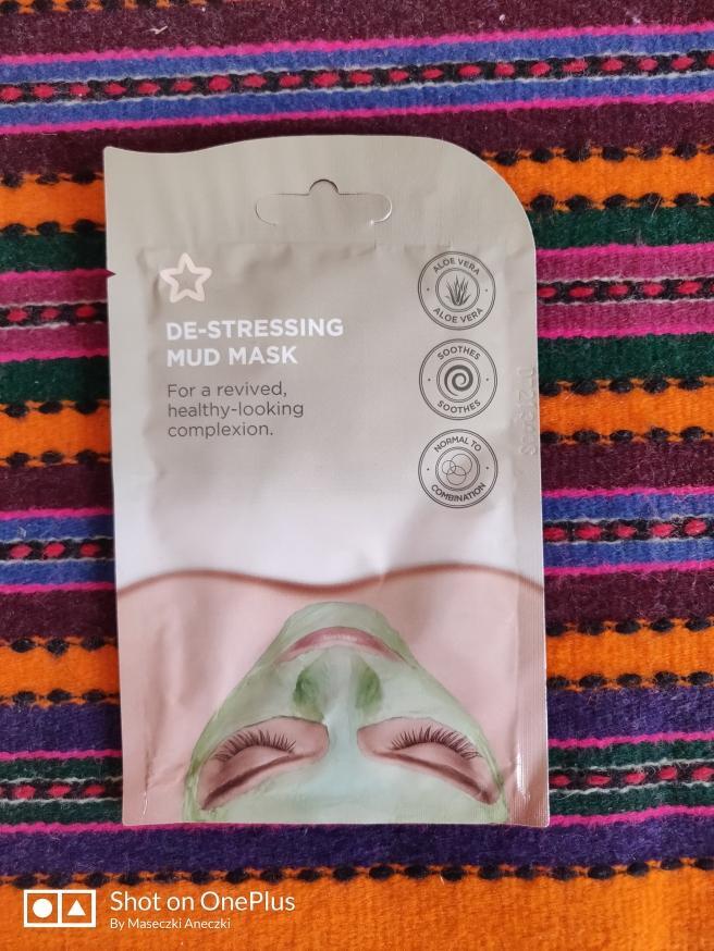 De-stressing mud mask