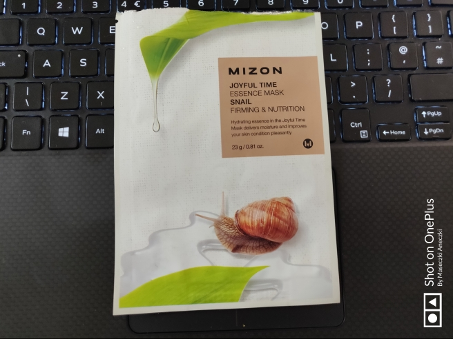 MIZON Firming & Nurishing Sheet Mask