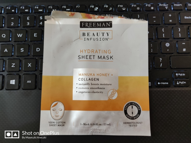 Freeman Beauty Infusion Hydrating Sheet Mask