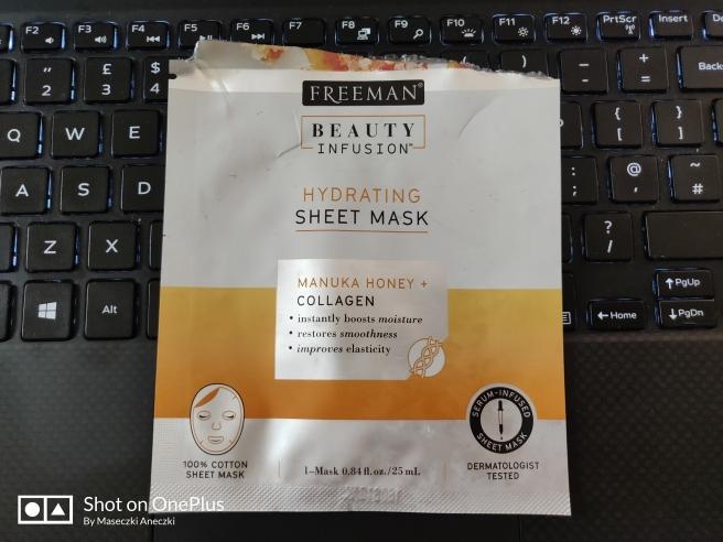 Freeman Beauty Infusion Hydrating Sheet Mask