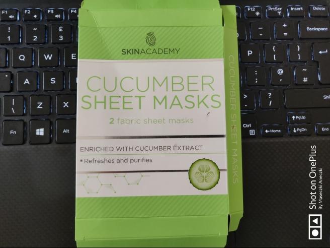 Skin Academy Cucumber Sheet Mask