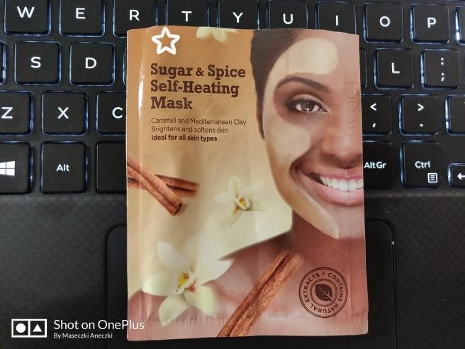 Superdrug Sugar & Spicy Self-Heating Mask