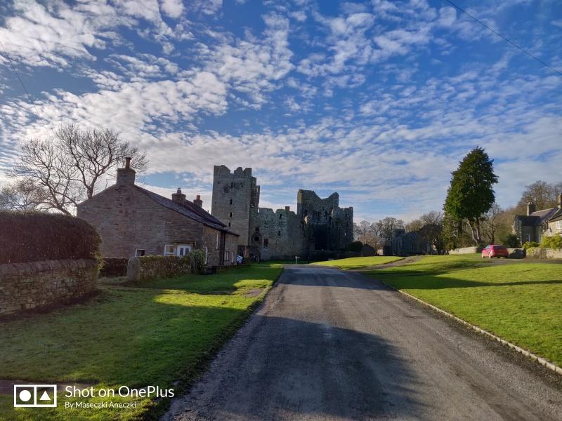 bolton castle widok zamku